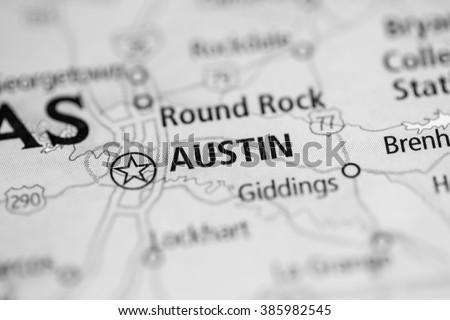Austin. Texas. USA - stock photo
