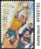 AUSTRALIA - CIRCA 1996: stamp printed by Australia, shows rugby, circa 1996 - stock photo