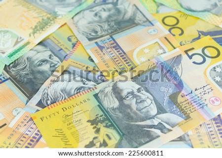 Australia Dollars - stock photo