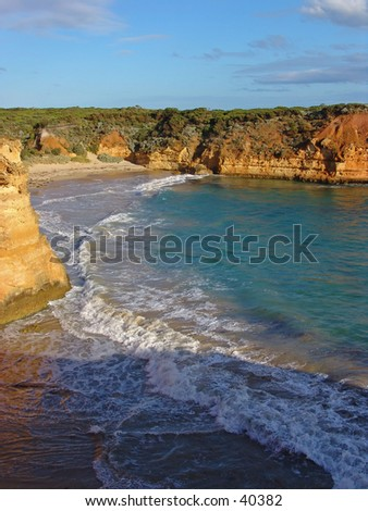 Australia tropical seahore - stock photo