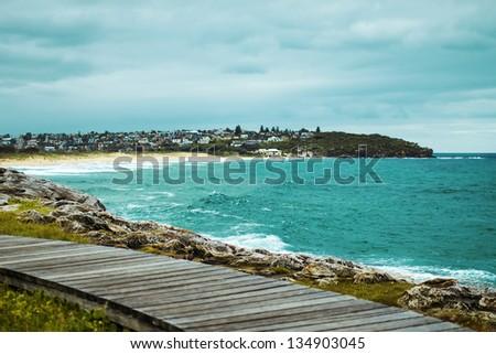 australian beach - stock photo