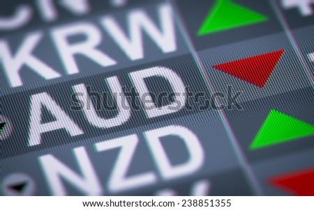 Australian dollar - stock photo
