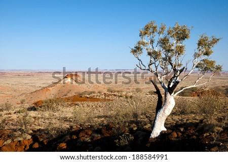 Australian Outback - Pilbara - stock photo