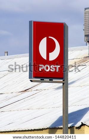 Australian post office box - stock photo