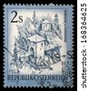 "AUSTRIA - CIRCA 1974: A stamp printed in Austria shows Innbrucke b Finstermunz, from the series ""Sights in Austria"", circa 1974 - stock photo"