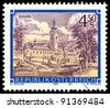 AUSTRIA - CIRCA 1984: A stamp printed in Austria shows Schlagl monastery, series, circa 1984 - stock photo
