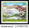 AUSTRIA - CIRCA 1996: a stamp printed in the Austria shows Hohe Tauern National Park, Scenery, circa 1996 - stock photo