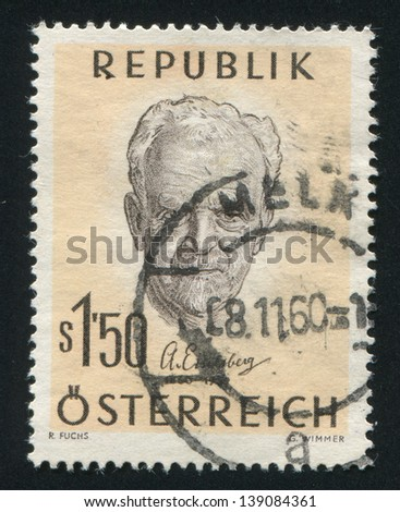 AUSTRIA - CIRCA 1960: stamp printed by Austria, shows Anton Eiselsberg, Surgeon, circa 1960
