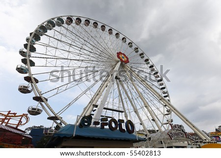 Austria, Vienna, Ferris Wheel - stock photo