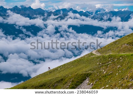 Austrian Adventure - stock photo