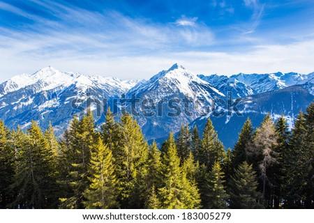 Austrian Alps - stock photo