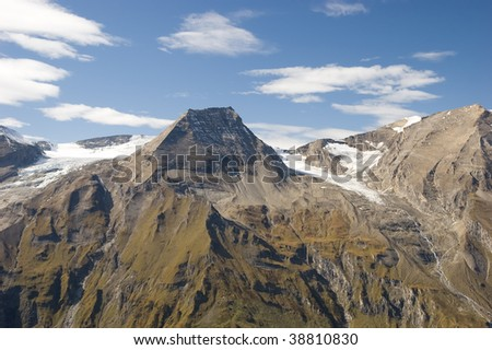 Austrian Alps / mountains landscape - stock photo