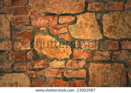 Authentic old brick texture for your backround