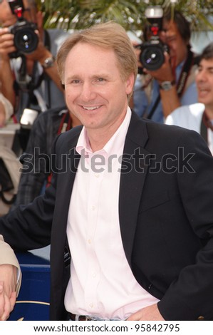 "Author DAN BROWN at the photocall for the cast of ""The Da Vinci Code"" at the 59th Annual International Film Festival de Cannes. May 17, 2006  Cannes, France.  2006 Paul Smith / Featureflash - stock photo"