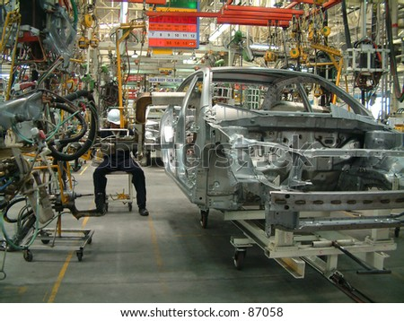 Auto Industry - stock photo