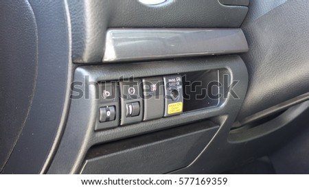 modern car interior electronics controller stock photo 576489940 shutterstock. Black Bedroom Furniture Sets. Home Design Ideas