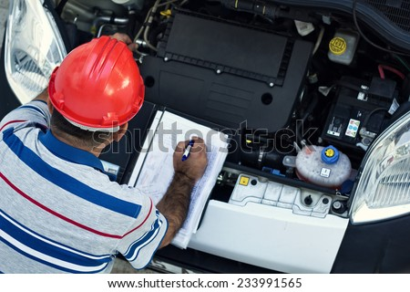Auto Repairman - stock photo
