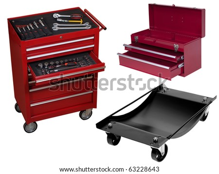 auto-tools for garage - stock photo