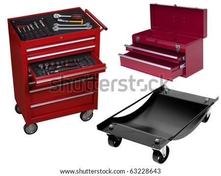 auto-tools for garage - stock photo