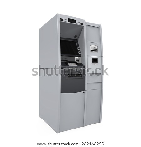 Automated Teller Machine - stock photo