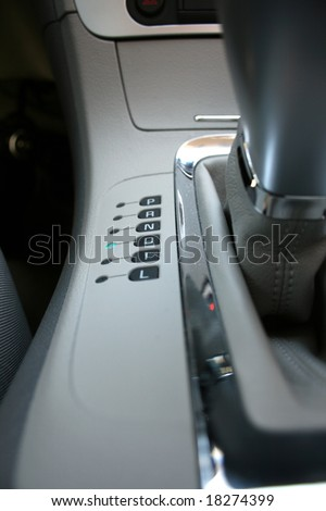 Automatic Transmission Shifter in Drive