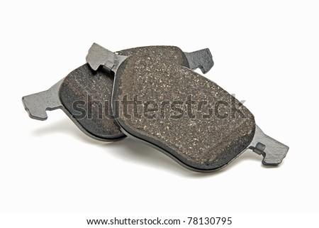 automobile brake pads - stock photo