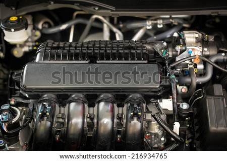 Automobile Engine - stock photo
