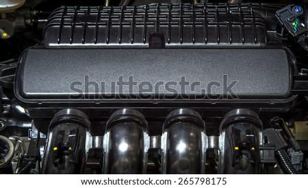 Automobile Engine - stock photo
