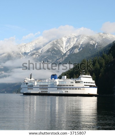 Automobile Ferry - stock photo