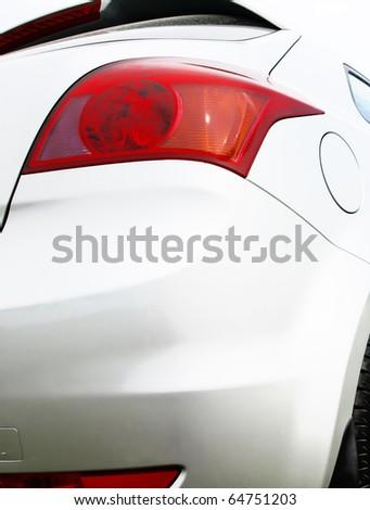 Automobile lamp - stock photo