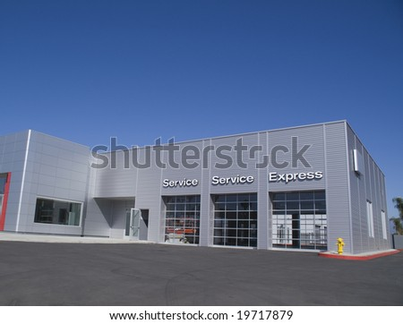 Automobile Service Center - stock photo