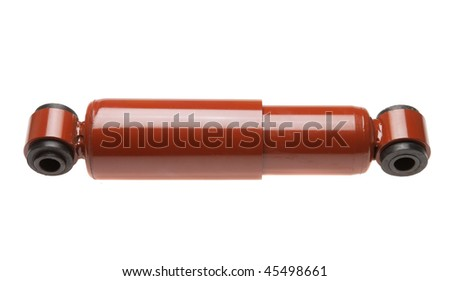 Automobile shock absorber for the comfort of the passengers and the road holding of the vehicle - stock photo