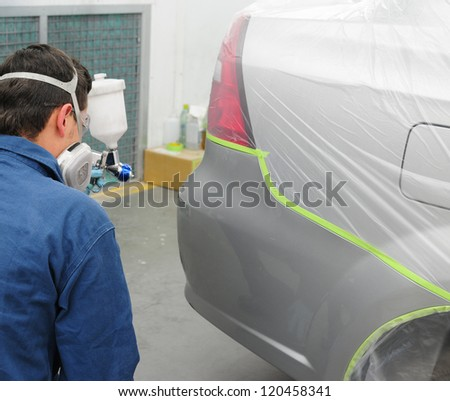 Autoshop. - stock photo