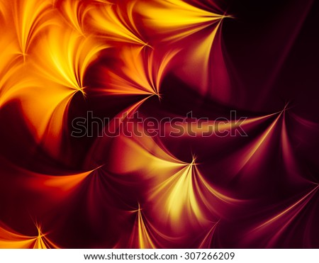 Autumn abstract background, bright and showy. Sends joyful autumnal mood - stock photo