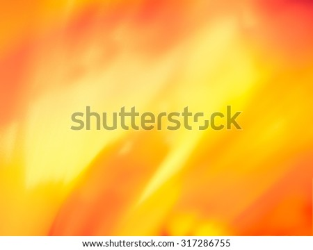 Autumn abstract background, bright and showy. Sends joyful autumnal mood. Texture highly blurred - stock photo