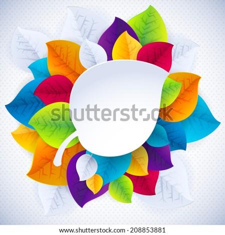 Bright Colorful Design Elements Templates Vector Stock Vector ...