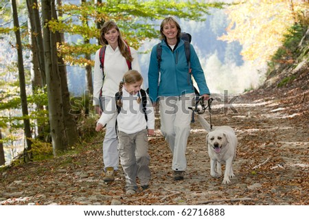 Autumn adventure - stock photo