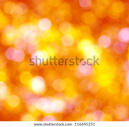 autumn background with sunny rays - stock photo