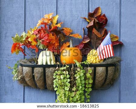 autumn display - stock photo