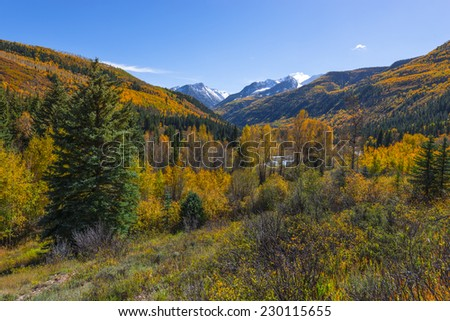 Autumn in the Rockies Chair Mountain in the Elk Mountain Range