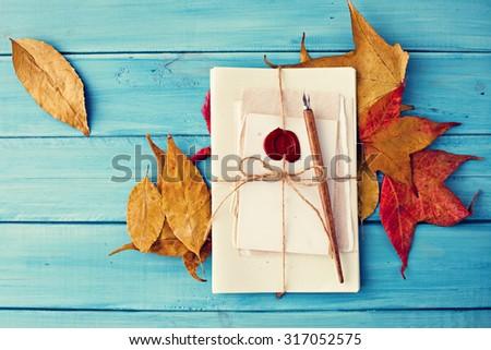 Autumn nostalgia  - stock photo