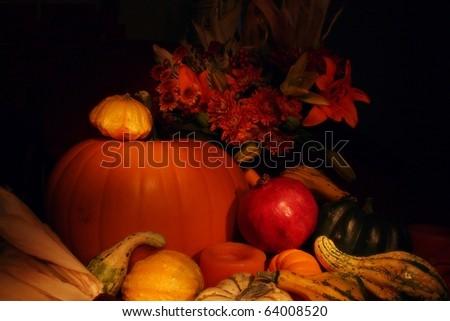 Autumn Produce - stock photo