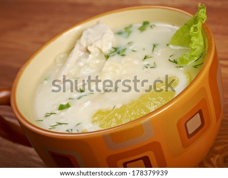 Avgolemono or egg-lemon - Mediterranean sauces and soups made with egg and lemon