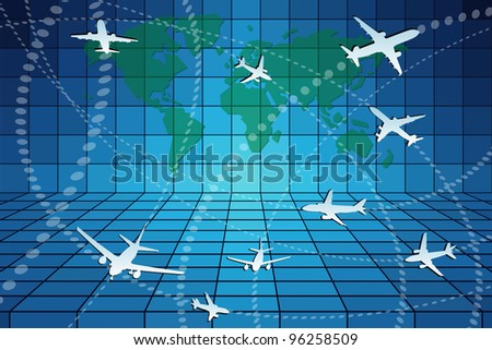 Aviation - stock photo