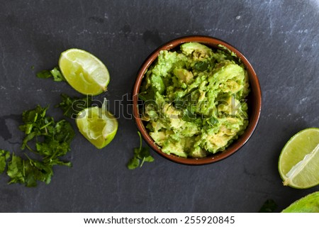 Avocado spread - stock photo