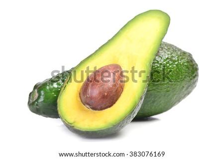 Avokado fruit - stock photo