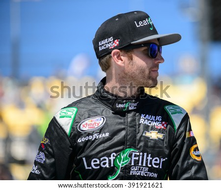 AVONDALE, AZ - MAR 11: Blake Koch at the NASCAR Xfinity Series Axalta 200 at Phoenix International Raceway in Avondale, AZ on March 11, 2016