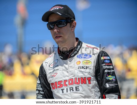 AVONDALE, AZ - MAR 11: Brad Keselowski at the NASCAR Xfinity Series Axalta 200 at Phoenix International Raceway in Avondale, AZ on March 11, 2016