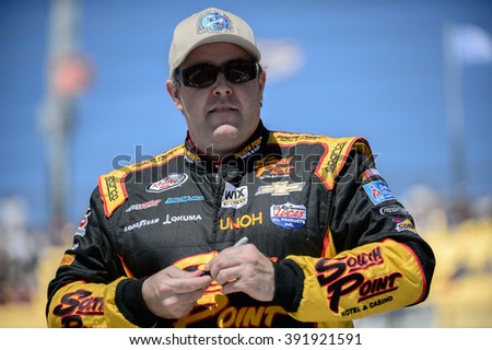AVONDALE, AZ - MAR 11: Brendan Gaughan at the NASCAR Xfinity Series Axalta 200 at Phoenix International Raceway in Avondale, AZ on March 11, 2016