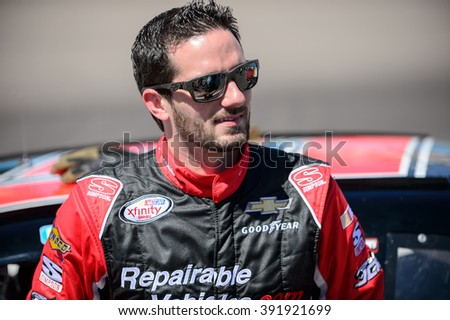 AVONDALE, AZ - MAR 11: Jeremy Clements at the NASCAR Xfinity Series Axalta 200 at Phoenix International Raceway in Avondale, AZ on March 11, 2016